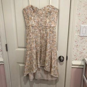 BCBG Formal Strapless Dress
